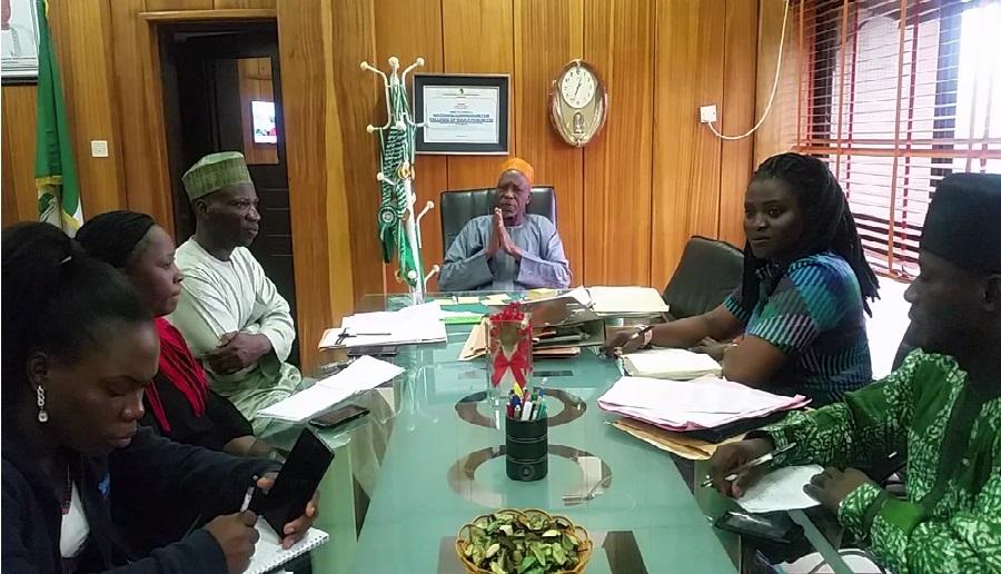 NCCE SHAKE HANDS WITH HIYA NIGERIA