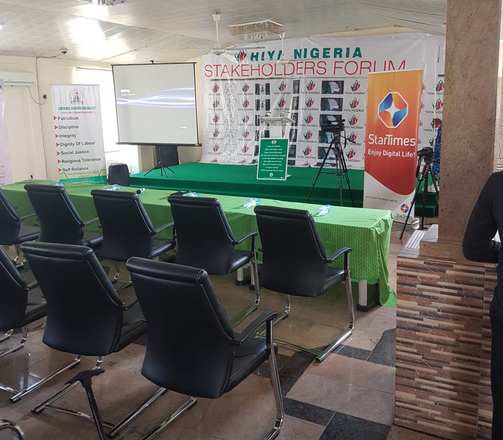 HIYA NIGERIA hosts Press Conference